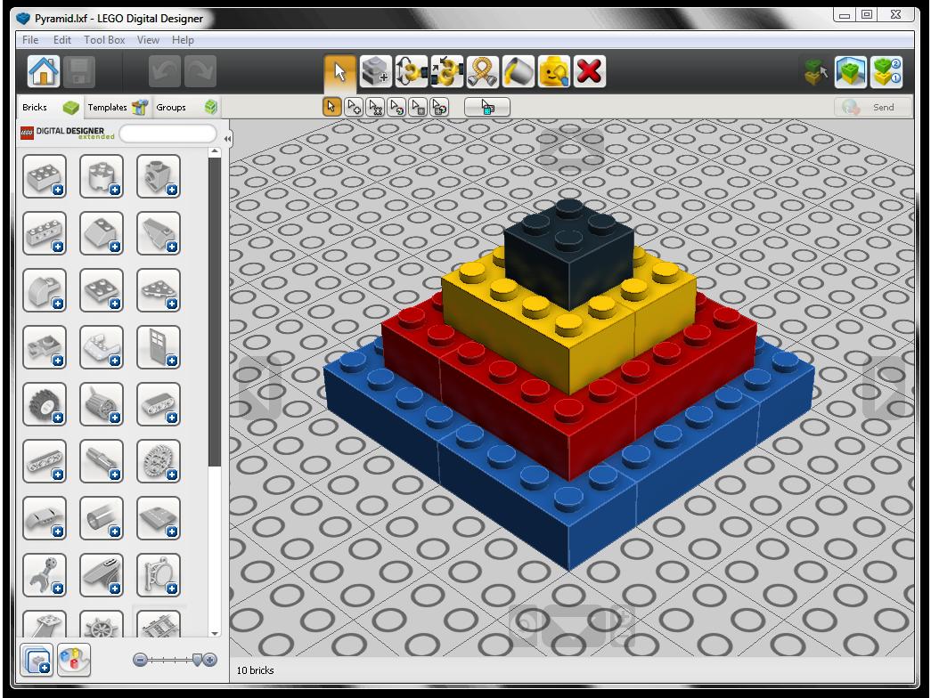 File:LEGO Digital Designer window png - LDraw org Wiki